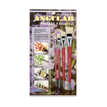 Creative Mark Angular Watercolor Brush Set of 4
