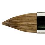 Escoda Finest Kolinsky Brush Series 2813 Filbert #8