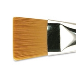 Creative Mark Mural Large Brush Synthetic Golden Taklon Flat Size 30