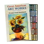 Great American Artworks Soft Pastels Set of 78 - Anne Heywood Gallery Assortment