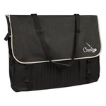 Creativo Messenger Bag Extra Large - Black and Grey
