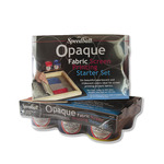 Speedball Opaque Fabric Screen Printing Ink Set