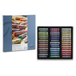 Rembrandt Soft Pastels Cardboard Box Set of 45 Full Sticks - Assorted Colors