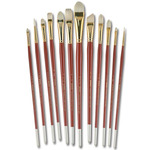 Jewel Bristle Brush Professional Set