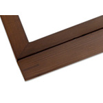 "Ambiance Gallery Wood Frames Box of 8 6x6"" - Walnut"