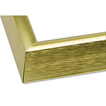 "Gallery Aluminum Frames Box of 6 12x12"" - Gold"