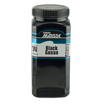 Matisse Medium 25 Black Gesso 500 ml Jar