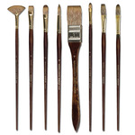 Winsor & Newton Monarch Synthetic Brushes