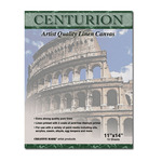 Centurion Acrylic Primed Linen Canvas 10 Sheet Pads