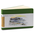 "Global Arts Handbook Journal 3-1/2"" x 5-1/2"" Landscape Ivory Black"