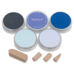 PanPastel Soft Pastels Set of 5 - Blues