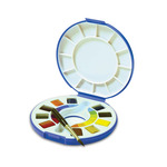 Raphael Watercolor Travel Set of 10 Half Pans