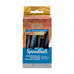 Speedball Block Printing Water Soluble Ink Metallic Set of 4