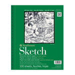 Strathmore 400 Series Recycled Sketch Pad, 100 Sheets 11x14""