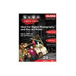 """SoHo Ink-Jet Paper Glossy 180 gram (50 Pack) 5x7"""""""