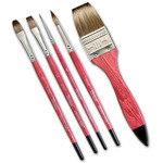 Vermeer Classic Mongoose Short Handled Brushes