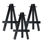 Ultra-Mini Display Easel 3-Pack - Black Easel