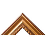 "Wilson Bickford Wood Frame Style #107 20x24"" (3"" wide moulding) - Gold"