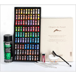 SoHo Soft Pastel Half Stick Value Set Beginner - 90 Assorted Colors
