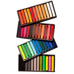 SoHo Urban Artist Soft Pastel Sketch Squares Set of 48 - Assorted Colors