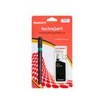 Isomar Technoart Pen + Ink 0.50mm - Black