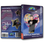 Perry Milou Acrylic Painting DVDs