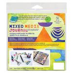 Grafix Mixed Media .010 Opaque White Dura-Bright 6x6 Disc-Bound Journal