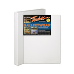 "Fredrix Gallerywrap Pre-Stretched Canvas 1-1/2"" Box of Three 20x20"""