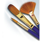 Robert Simmons Sapphire Long Handle Brushes