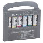 Da Vinci Artists' Watercolor Iridescent Set of 6 15 ml Tubes