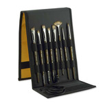 Silver Brush Monza® Synthetic Mongoose Brush Set