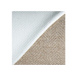 "Sargent Herringbone Weave Linen Canvas Oil Primed (680 gsm) 41"" x 1 Yard Sample"