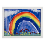 "RAS Kids Art Frame- Box of 12 9x12"" - White"