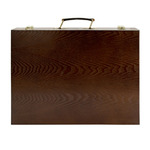 Capri 2 Deluxe Wood Sketch Box - Dark Walnut Stained