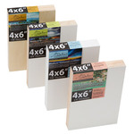 DaVinci Pro Art Panels Variety Sampler 4 Pack 4x6in