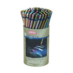 Derwent Watercolor Pencils Studio Metallic Tub of 72 - Assorted