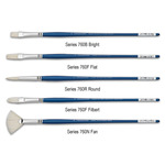 Grumbacher Academy Fine Hog Bristle Brushes