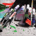 Winsor & Newton Artists Acrylic Brushes