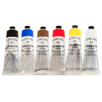 Charvin Fine Oil Colors Value Set of 6 150 ml Tubes