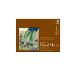 Strathmore Mixed Media 400 Series Glue-Bound Pad (140 lb. 15 Sheets Vellum) 18x24""