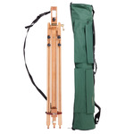 Daler-Rowney St. Paul's Portable Wood Easel w/ Green Carry Case