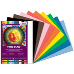 "Pacon Tru-Ray Sulphite Construction Paper Pack of 50 9x12"" - Assorted Colors"