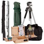 "Guerrilla Painter Go Box Painting Kit 5x7"" Pocket Box w/ Tripod Kit & Umbrella"