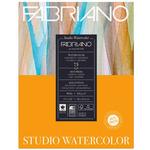 """Fabriano Studio Watercolor Paper 90 lb. Hot Press 75-Sheet Pad 11x14"""""""