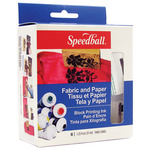Speedball Fabric & Paper Block Printing Ink Set