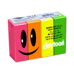 Claytoon Modeling Clay for Kids 1 lb. Total - Neon Colors