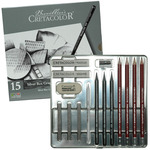 Cretacolor Silver Box Drawing Sets