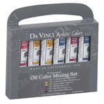 Da Vinci Professional Artists' Oil Color Mixing Set of 6 21 ml Tubes