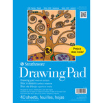 Strathmore 100 Series Kids' Art Paper Drawing Pad (40 Sheets) 9x12""