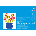 Strathmore 100 Series Kids' Art Paper Fingerpaint Pad (30 Sheets) 12x18""